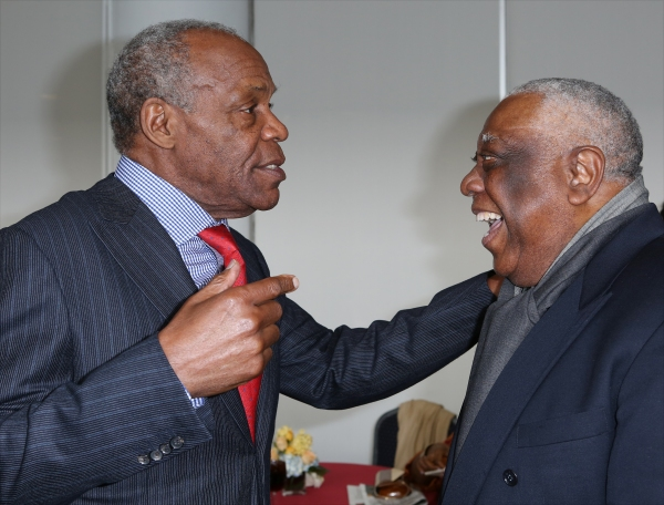 Danny Glover and Woodie King Jr.