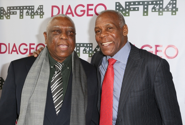 Woodie King Jr. and Danny Glover