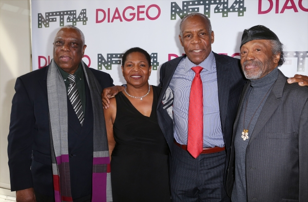 Woodie King Jr., Valerie Graves, Danny Glover and Otto Neals