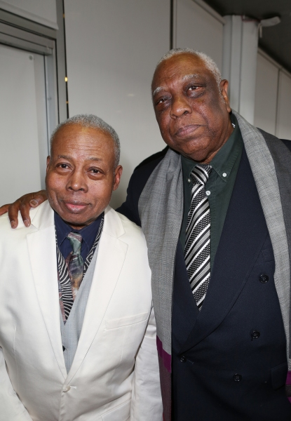 Playwright Ed Bullins and Woodie King Jr.