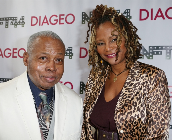 Playwright Ed Bullins and Tonya Pinkins