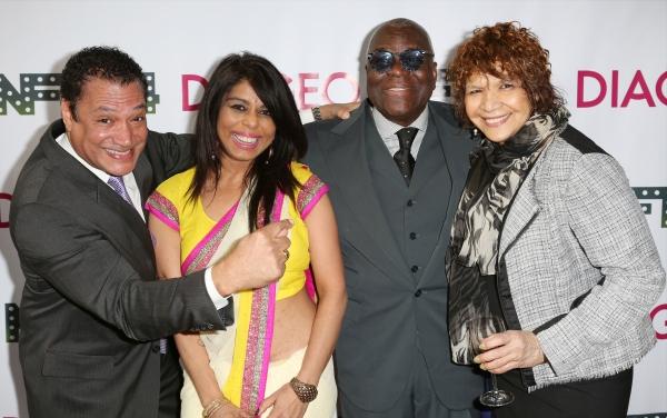 Ricardo Khan with fiancee, Voza Rivers and Trazana Beverly