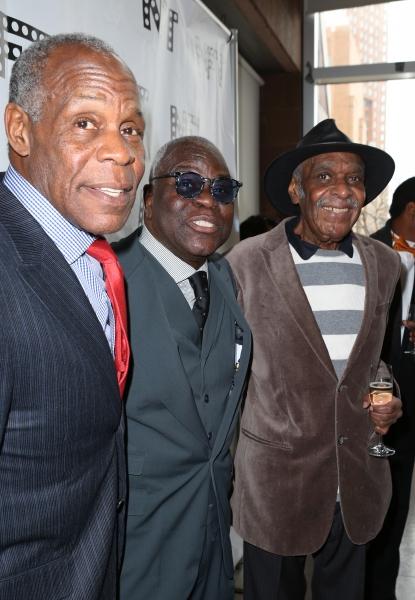 Danny Glover, Voza Rivers and Douglas Turner Ward