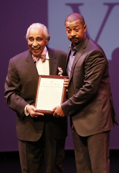 Charles Rangel and Robert Townsend