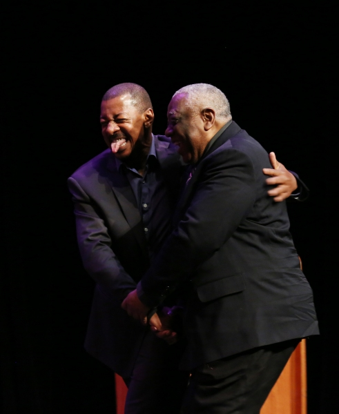 Robert Townsend and Woodie King Jr.