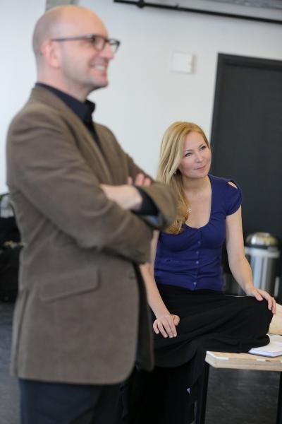 Steven Soderbergh and Jennifer Westfeldt Photo