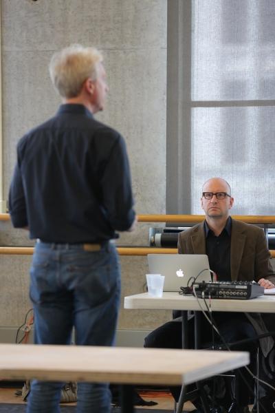Ben Livingston and Steven Soderbergh Photo