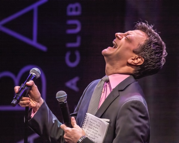 Photo Flash: Jim Caruso's Cast Party Goes to Vegas - ROCK OF AGES, JERSEY BOYS and More!