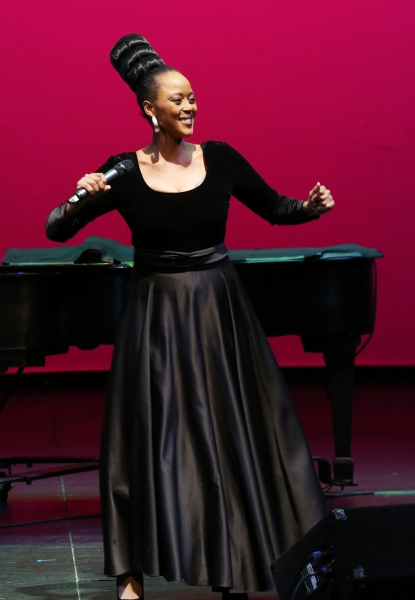 performs at Woodie King Jr.''s New Federal Theatre 44th Anniversary Gala honoring Voza Rivers at BMCC Tribeca Performing Arts Center on March 16, 2014 in New York City.