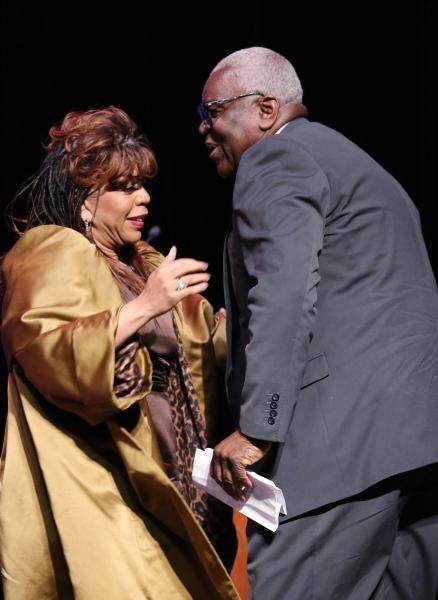 Valerie Simpson and Woodie King Jr.