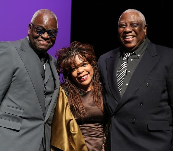 Voza Rivers, Valerie Simpson and Woodie King Jr.