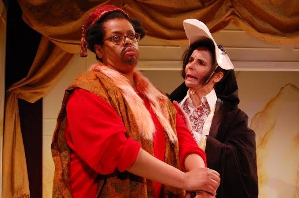 Natalie Lebert (Sir Patient Fancy) and Virginia Baeta (Sir Credulous Easy) Photo