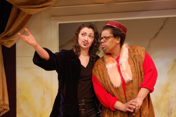 Elisabeth Preston (Wittmore) and Natalie Lebert (Sir Patient Fancy)