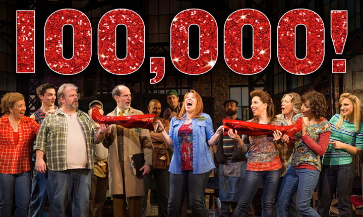 KINKY BOOTS Launches Facebook Competition To Win 10 Pairs Of Free Tickets