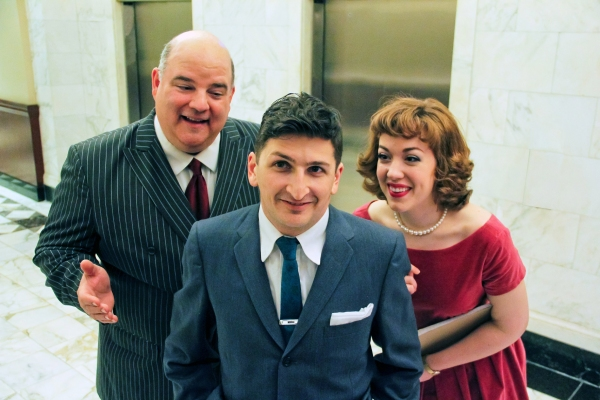 Photo Flash: Meet the Cast of Porchlight's HOW TO SUCCEED IN BUSINESS WITHOUT REALLY TRYING, Beg. Tonight