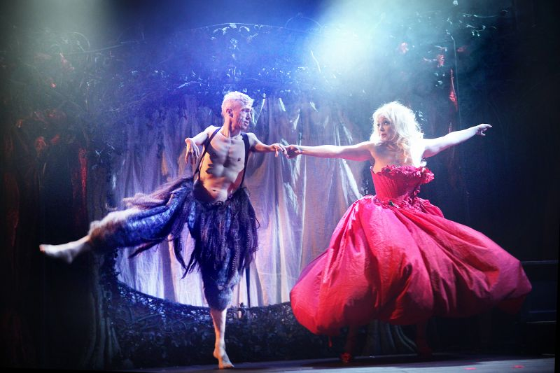 BWW Reviews:  BEAUTY AND THE BEAST As A Sideshow Attraction