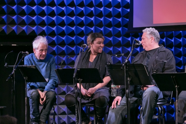 Austin Pendleton, Taneisha Duggan, and Harvey Fierstein
