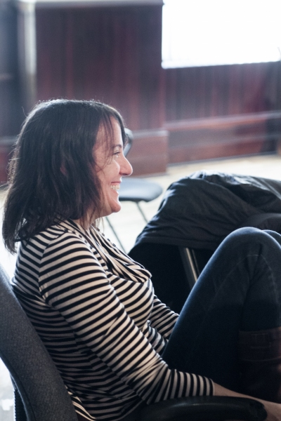 Playwright Mona Mansour Photo