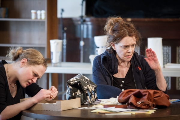 Photo Flash: In Rehearsal with Amy Morton and More in the World Premiere of THE WAY WEST at Steppenwolf