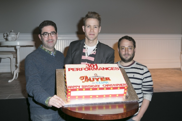 Photo Coverage: Christopher J. Hanke Joins BUYER & CELLAR and Celebrates Birthday!