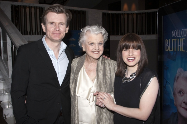Charles Edwards, Angela Lansbury and Jemima Rooper
