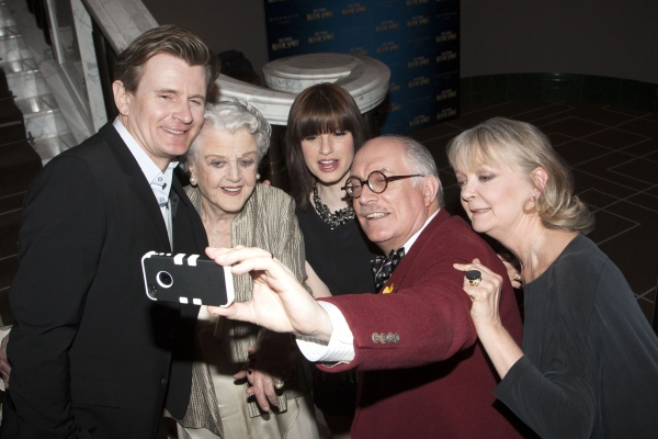 Charles Edwards, Angela Lansbury, Jemima Rooper, Simon Jones and Serena Evans