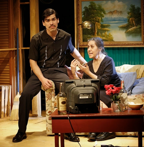 Photo Flash: First Look at Intar's ADORATION OF THE OLD WOMAN by Jose Rivera, Starring Raul Castillo and More