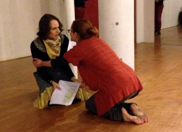 Ellen Adair (Rosalind) and Anna O''Donoghue (Celia)