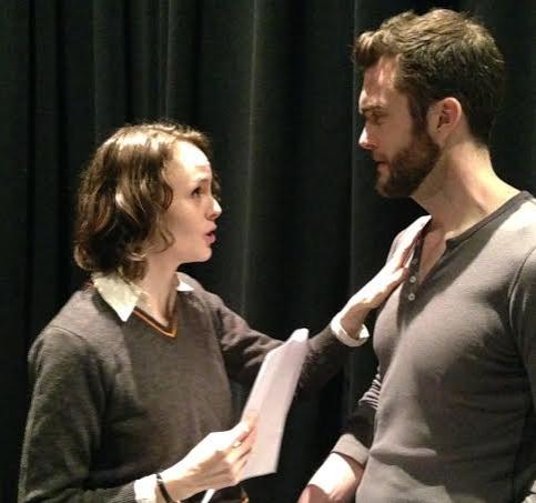 Ellen Adair (Rosalind) and Patrick Mulryan (Orlando)