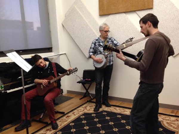 Alexander Sovronsky, Christopher Seiler and Nat Cassidy