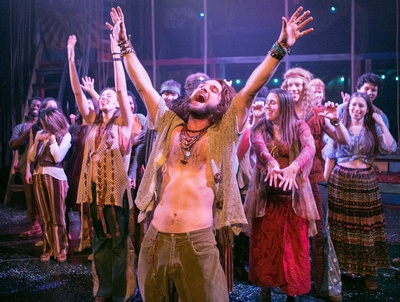 BWW Reviews:  Keegan Theatre's HAIR Provides Rollicking Fun, Food for Thought, and Disturbing Images