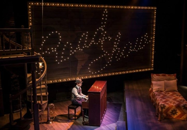 Photo Flash: First Look at Michael Aaron Lindner, Andrew Rothenberg and More in CST's ROAD SHOW - All the Pics!