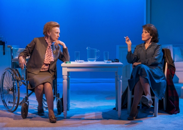 Photo Flash: First Look at Dick Cavett, Roberta Maxwell and Marcia Rodd in HELLMAN v. McCARTHY at Abingdon