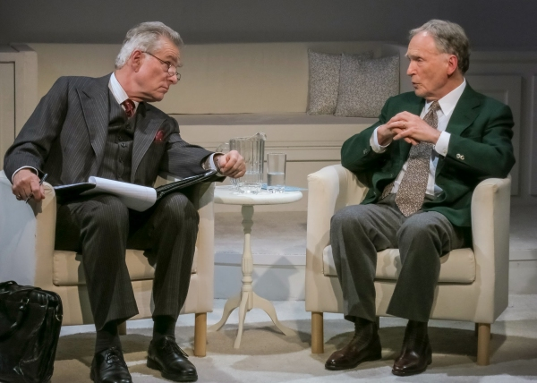 Peter Brouwer (Lester) and Dick Cavett (as himself)