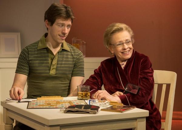 Rowan Michael Meyer (Ryan) and Roberta Maxwell (Lillian Hellman)  Photo