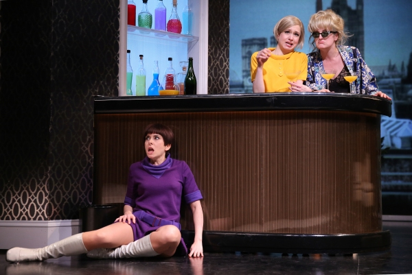 Jeanine Serralles as Bea, Ariana Venturi as Higgy, and Keira Naughton as Ulcie Photo