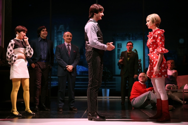 Jeanine Serralles as Bea, James Barry as Pedro, Stephen DeRosa as Leo, Bryan Fenkart as Claude, and Ariana Venturi as Higgy