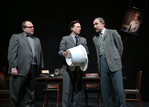 Anthony Manna as Mr. Coal, Brad Heberlee as Mr. Urges, and Greg Stuhr as Mr. Berry