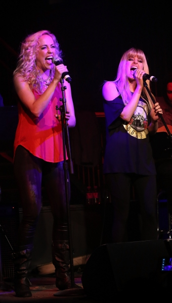 Photo Flash: ROCK OF AGES Band and Cast, ZOWIE BOWIE and More at MONDAYS DARK