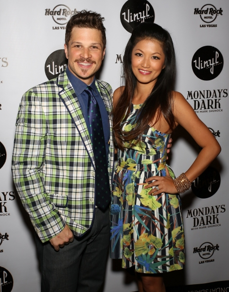 Mark Shunock and wife Cheryl Daro Photo