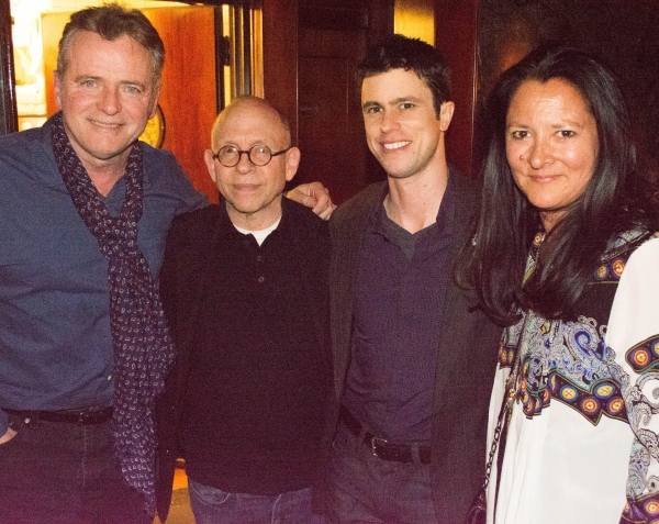 Aidan Quinn, Bob Balaban, Dan Hoyle and Marsha Garces Williams