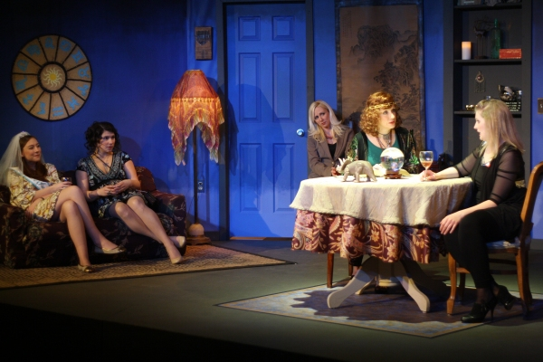 Photo Flash: Two Muses Theatre Teams with Local Psychics and The Bride's Project for THE CURRENT