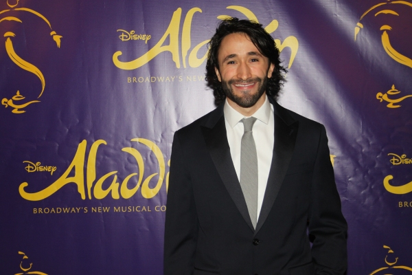 Photo Coverage: ALADDIN Cast Celebrates a Shining, Shimmering, Splendid Opening Night!