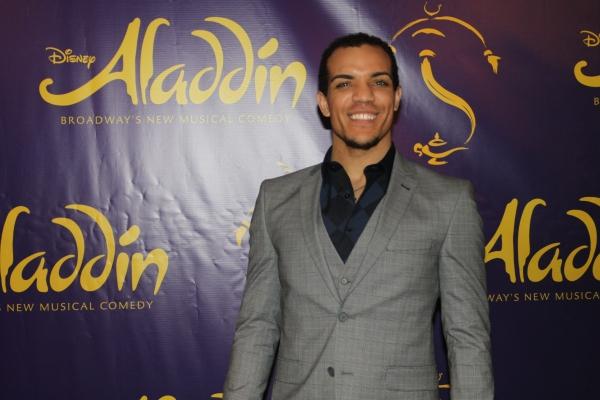 Photo Coverage: ALADDIN Cast Celebrates a Shining, Shimmering, Splendid Opening Night!