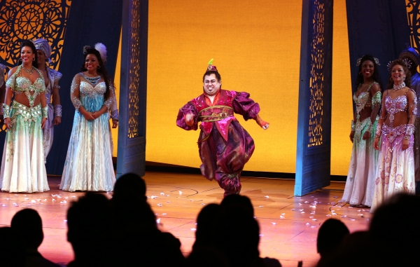 Photo Coverage: Inside ALADDIN's Magical  Opening Night Curtain Call!