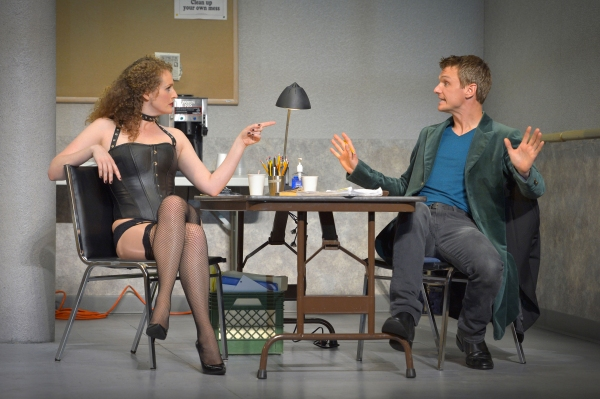 Photo Flash: First Look at Brenda Meaney and Henry Clarke in A.C.T.'s VENUS IN FUR