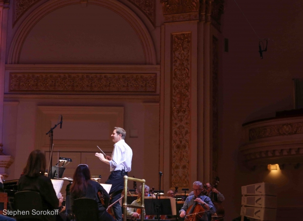 Photo Coverage: In Rehearsal with the NY Pops and Stephanie J. Block!