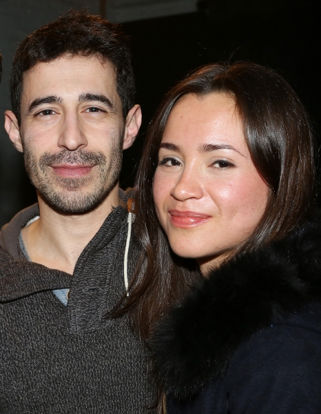 Photo Coverage: The Cast of HBO's LOOKING Visits ADORATION OF THE OLD WOMAN