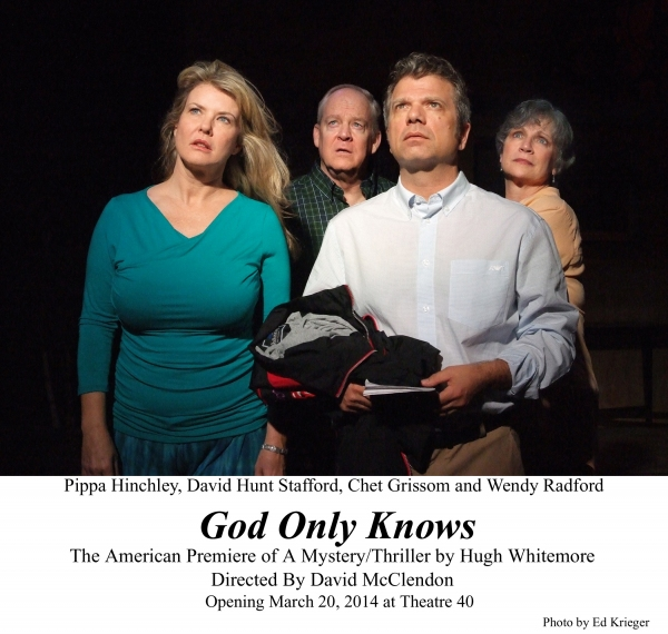 BWW Reviews: GOD ONLY KNOWS Asks the Question 'What Does it Mean to Have Faith?'