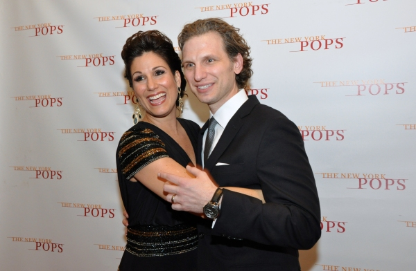 Photo Coverage: Backstage at The New York Pops' ON BROADWAY Concert